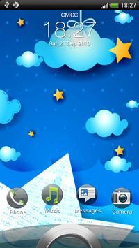Night Clouds Live Wallpaper apk screenshot