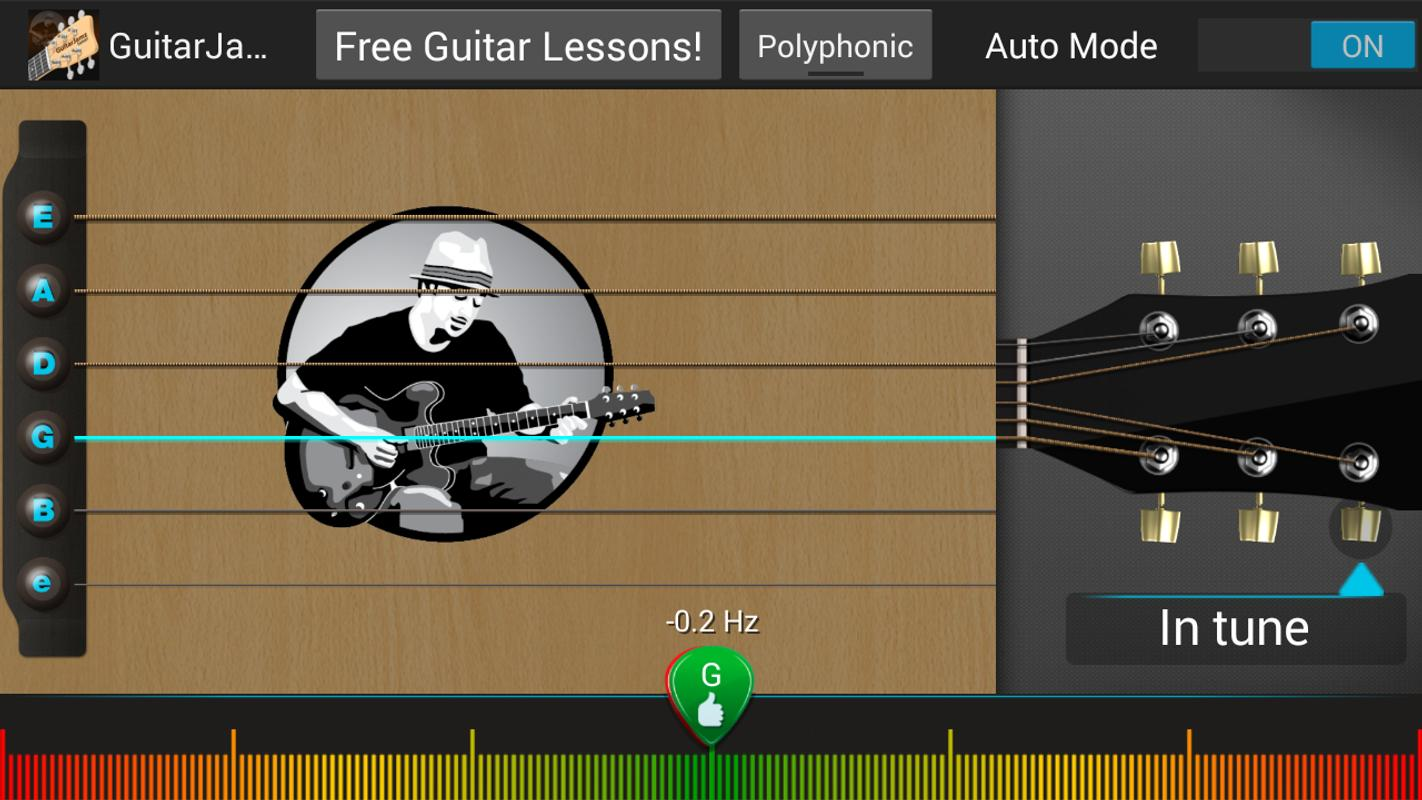 guitar jamz polyphonic tuner apk download free music audio app for android. Black Bedroom Furniture Sets. Home Design Ideas