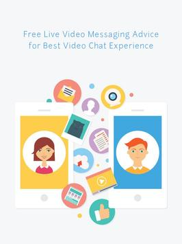 Live Video Messaging Advice poster