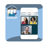 Group Live Video Call Advice icon