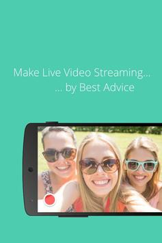 Live Video Streaming Advice poster