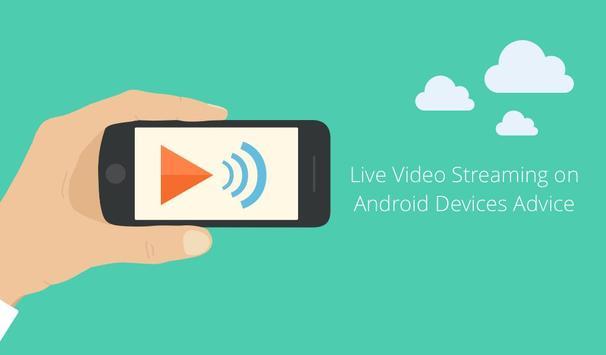 Live Video Streaming Advice apk screenshot