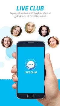 LiveClub - Global Video Chat poster