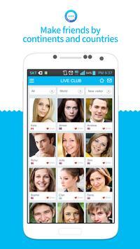 LiveClub - Global Video Chat apk screenshot