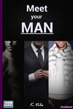 Meet your MAN - Living a Book poster