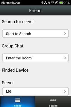 Bluetooth Chat apk screenshot