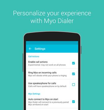 Myo Dialer apk screenshot
