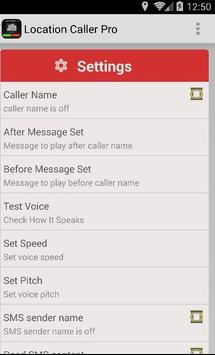 Callers Name Speaker Automatic apk screenshot