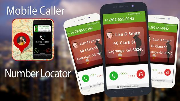 Mobile Number Locator Tracker poster