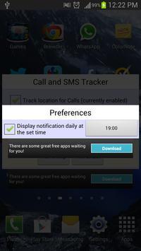 Call and Message Tracker apk screenshot