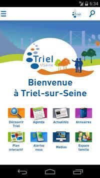 Triel-sur-Seine poster