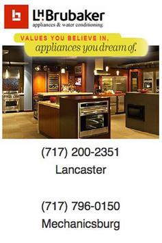 LH Brubaker Appliance poster
