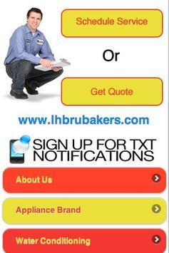 LH Brubaker Appliance apk screenshot