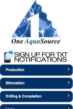 One Aqua poster