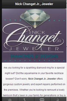 Nick Changet Jr Jewelers poster
