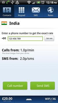 Localphone International Calls apk screenshot
