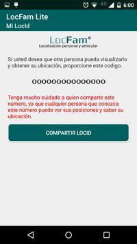 LocFam Lite apk screenshot