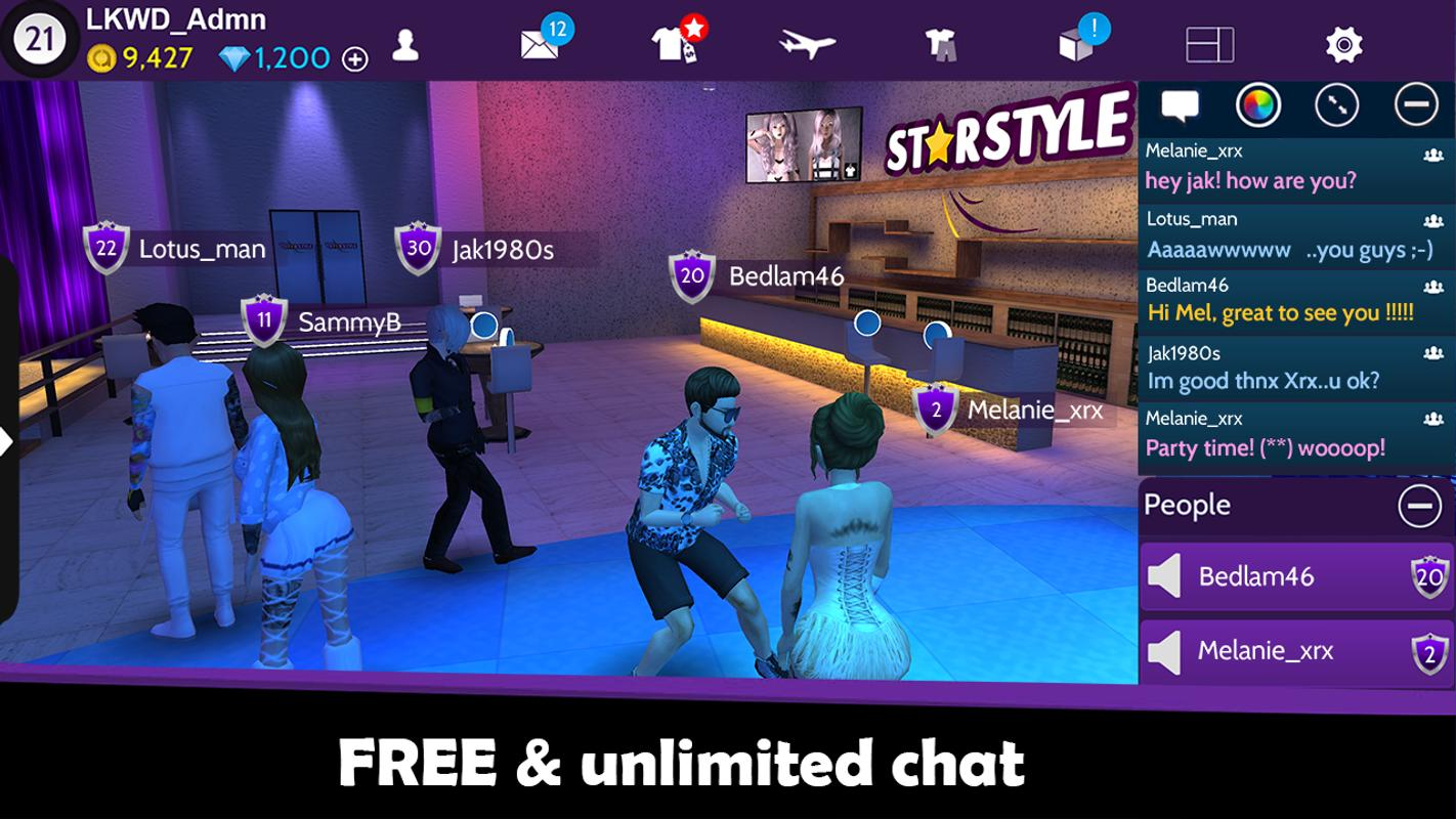 Avakin Life - 3D virtual world APK Download - Free Role