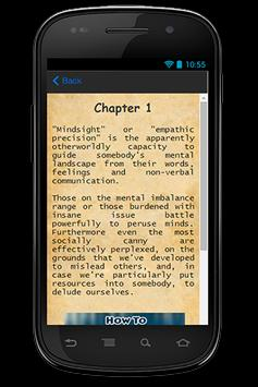 How To Read Mind Guide apk screenshot