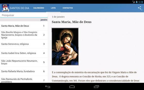 Santos do Dia apk screenshot
