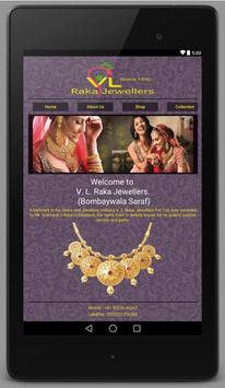 V. L. Raka Jewellers poster