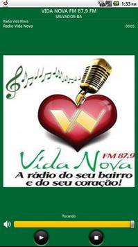 RÁDIO VIDA NOVA FM 87,9 FM poster