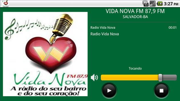 RÁDIO VIDA NOVA FM 87,9 FM apk screenshot