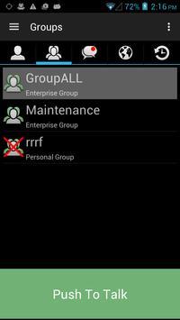 ChatterPTT apk screenshot