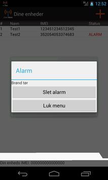 Logtech Event Alarm apk screenshot