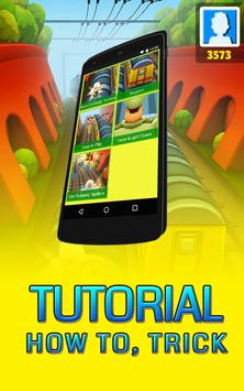 Tutorial For Subway Surfers poster