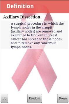 Breast Cancer Glossary apk screenshot