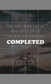 Inspirational quotes puzzle apk screenshot