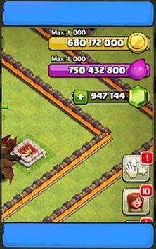 Clash for Gems Fhx Cheat apk screenshot