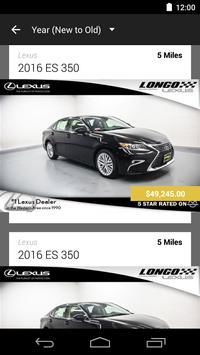 Longo Lexus DealerApp apk screenshot