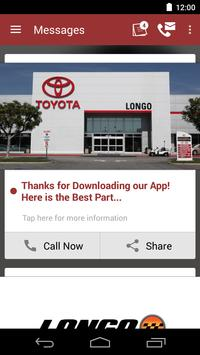Longo Toyota/Scion DealerApp apk screenshot