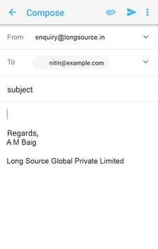 Purchase Order Monitoring App apk screenshot