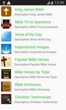 Free Study King James Bible poster