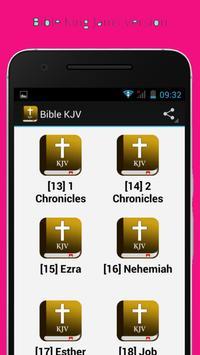 KJV Bible Free Download apk screenshot