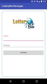 Recargas-Lottery Net poster