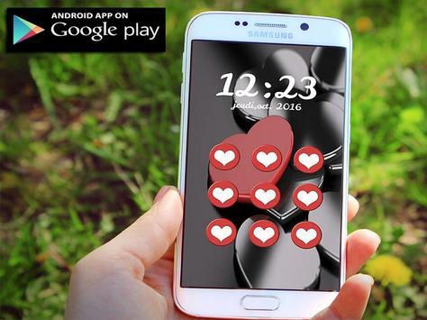 HD Love Pattern Lock Screen apk screenshot