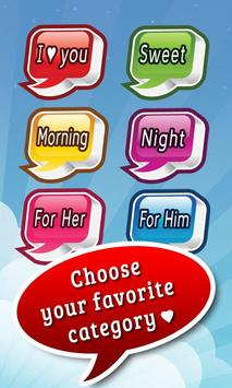 Cute Love Text Messages ♥ poster