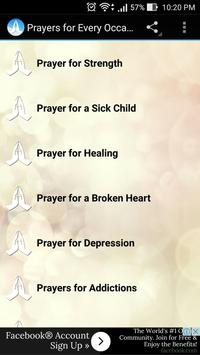 Prayers for Every Occasion poster