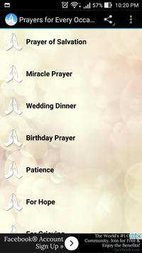 Prayers for Every Occasion apk screenshot