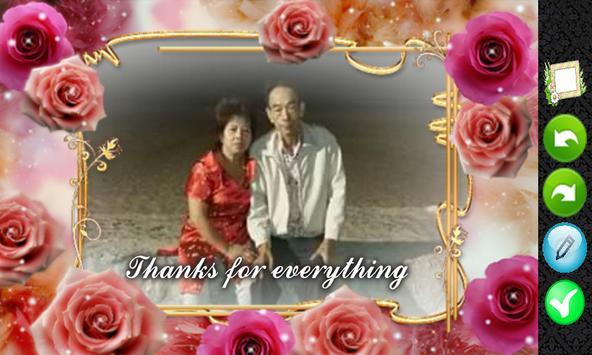 Love photo frame free apk screenshot