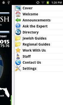 Florida Jewish Directory apk screenshot