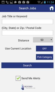 Executive Job Search apk screenshot