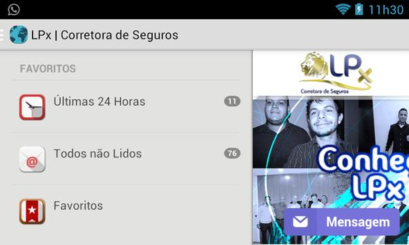 LPx Corretora apk screenshot