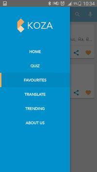 Koza - Gujarati Dictionary apk screenshot