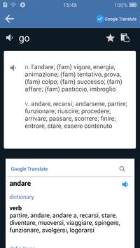 Italian English Dictionary apk screenshot