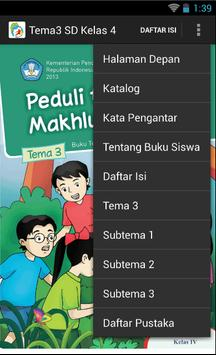 BSE Kur 2013 SD Kelas 4 Tema 3 apk screenshot